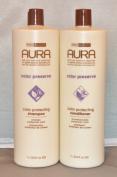 Aura Colour Protecting Shampoo & Conditioner Set 1000ml each
