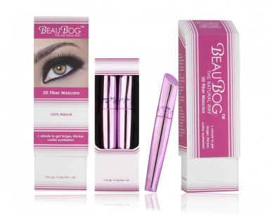 Get Thicker, Longer and more Beautiful Eyelashes with Revolutionary 3D fibre - Natural and Effective - Easy and Quick Enhancement- Safe for Eyes - Far. Conventional False Eyelashes
