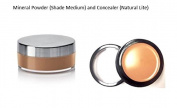 Beauty Sensation Medium Mineral Powder and Concealer