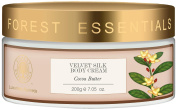 "Forest Essentials Velvet Silk Cocoa Butter Body Cream, 200g - --""Shipping by FedEx"""