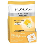 Pond's Exfoliating Renewal Wet Cleansing Towelettes , 30 Ct
