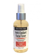 Anti Oxidant Facial Toner By Derma-nu - Enriched with MSM, Vitamin C and Glycolic Acid - 120ml