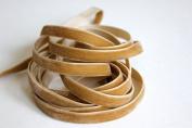 1cm Velvet Ribbon 25 Yard Roll Tan Colour