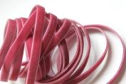 0.6cm Velvet Ribbon 25 Yard Roll Colonial Rose Colour