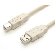 StarTech USBFAB_10 A to B USB 2.0 Cable - USB cable - 4 pin USB Type A (M) - 4 pin USB Type B (M) - 3m - beige