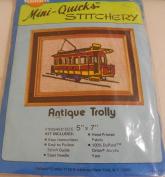 Mini-Quicks Stitchery Antique Trolly