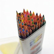 Echolife Professional Assorted Watercolour Pencils Set with Triangle Box Water Soluble Pencil Art Supplies 12/24/36/48 Count