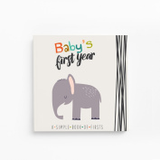 Little Animal Lover Baby's First Year Journal