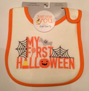 """Carter's Just One You """"My First Halloween"""" Bib"""