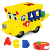 The Learning Journey Letterland Shape Sorter Remote Control School Bus by The Learning Journey