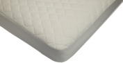 American Baby Company Organic Waterproof Natural Quilted Fitted Crib Pad Cover by American Baby Company