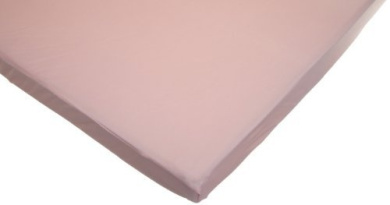 American Baby Company 100% Cotton Value Jersey Knit Fitted Portable/Mini Sheet, Pink by American Baby Company