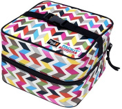 PackIt Freezable Salad Cooler Bag with Zip Closure, Ziggy by PackIt