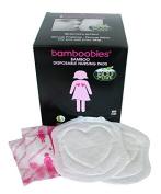 Bamboobies Premium Super Soft Disposable Nursing Pads - Breathable Milk-Proof Backing - Eco-Friendly - 60 Disposable Nursing Pads by Bamboobies
