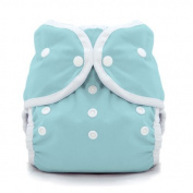 Thirsties Duo Wrap Snap Nappy Cover, Aqua, Size 2 by Thirsties