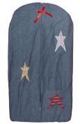 Patch Magic Nappy Stacker, Homespun Stars, 30cm x 60cm