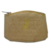 Golden Rosary Pouch