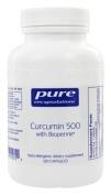 Pure Encapsulations - 60 CAPSULES - Curcumin 500 with Bioperine
