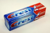 Procter and Gamble Crest Regular Toothpaste, 25ml Tube -- 36 per case.