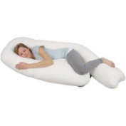 Leachco - All Nighter Total Body Pregnancy Pillow, Ivory