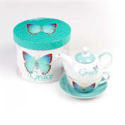 Tea for One Butterfly Grace Ephesians 2