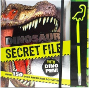Dinosaur Secret File with Dino Pen