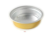 KEISEN 5.6cm mini Disposable Aluminium Foil Cups 100/PK 35ml 1 1/4oz for Muffin Cupcake Baking Bake Utility Ramekin Cup