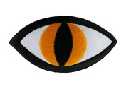 Eye Logos Embroidered Iron on Patch