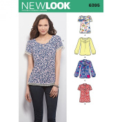 New Look Sewing Pattern UN6395A Autumn Collection Misses' Tops Sewing Patterns, A