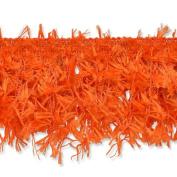 Expo International Hairy Gimp Fringe Trim, 10-Yard, Orange