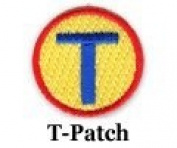 Iron on T Patch 10-Pack