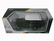 Toyota FJ40 Green 1/24 by Motormax 79323