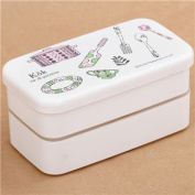 beautiful white Kok Sweden cooking pot design Bento Box from Japan