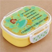 yellow Shinzi Katoh dot garden girl Bento Box Lunch Box from Japan