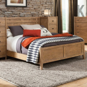 American Woodcrafters Natural Elements Panel Bed