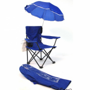 Redmon For Kids Beach Baby Umbrella Camp Chair, Royal Blue