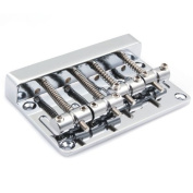 DN Chrome 4 String Bass Bridge Extremely Thick And Heavy Top Load Upgrade
