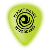 D'Addario Planet Waves Cellu-Glow Guitar Picks Light 10 Pack