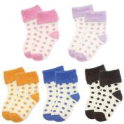 Wrapables Polka Dot Baby Socks
