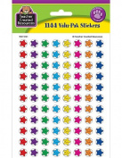 Teacher Created Resources Mini Stickers Valu Pack, Smiley Stars