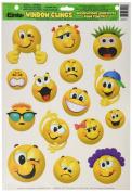 Eureka Emoticons Clings