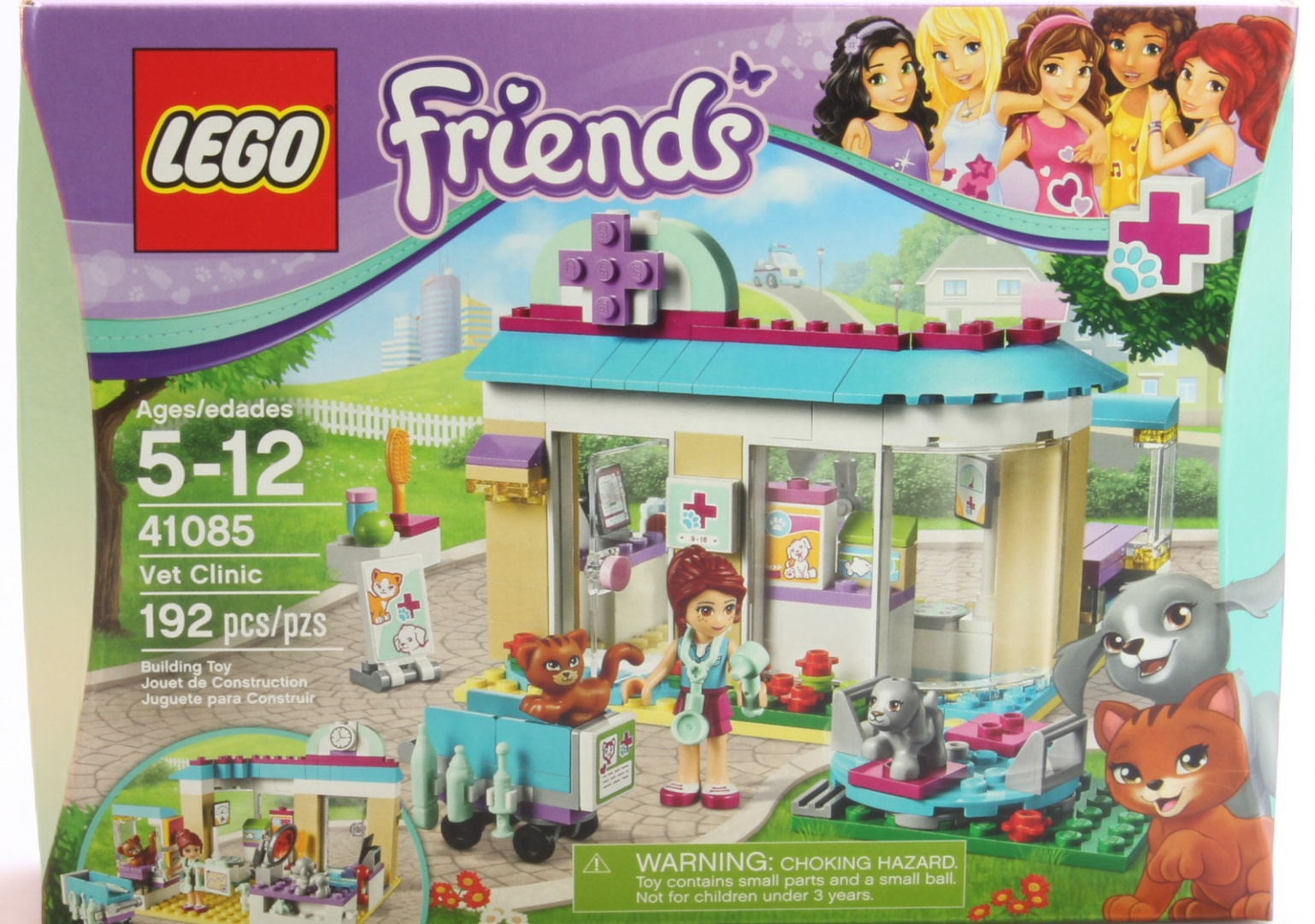 Lego Friends 41085 Vet Clinic By Lego Shop Online For Baby In