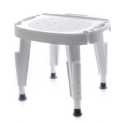 Ableware 727142001 Adjustable Shower Seat, White