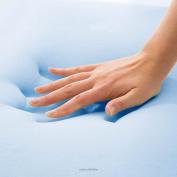 LINENSPA Gel Memory Foam Cool Contour Pillow, Standard High Loft