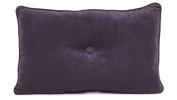 Brentwood Originals 7650 Avalon Pillow, 33cm by 50cm , Purple