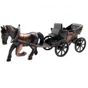 Horse & Carriage Die Cast Toy Pencil Sharpener Miniature 1:48 O Train Scale Replica