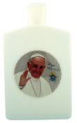 Pope Francis Holy Water Bottle with Flip Top Spout, 240ml