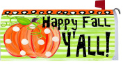 """ HAPPY FALL PUMPKIN "" - Magnetic Mailbox Makeover Cover - Fall Theme"