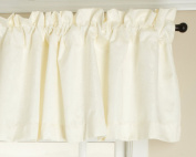 Stylemaster Gabrielle Foamback Valance, Oyster, 140cm by 43cm