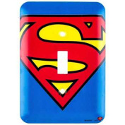 DC Comics Superman Symbol Wall Light Switch Cover